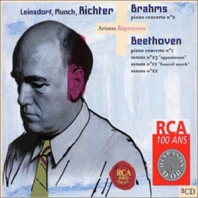 Brahms: Piano Concerto No. 2; Beethoven: Piano Concerto No. 1; etc.