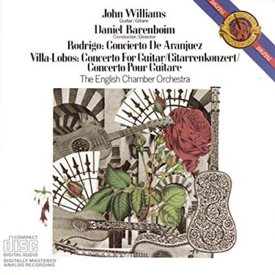 Rodrigo: Concierto de Aranjuez; Villa-Lobos: Concerto for Guitar and Small Orchestra