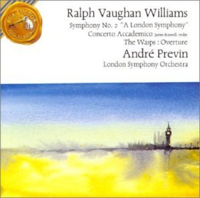 """Ralph Vaughan Williams: Symphony No. 2 """"A London Symphony""""; Concerto Accademico; The Wasps: Overture"""