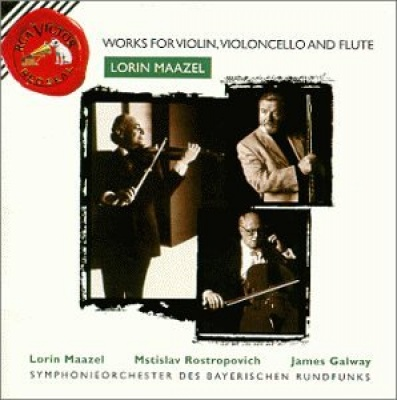 Lorin Maazel: Works for Violin, Violoncello & Flute