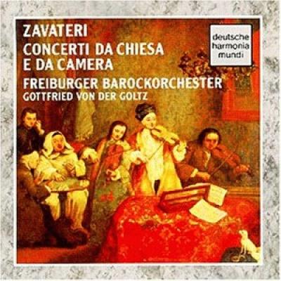 Zavateri: Concerti da Chiesa e da Camera