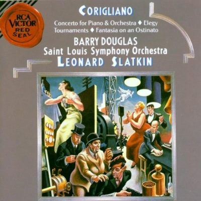 John Corigliano: Concerto for Piano & Orchestra; Elegy; Tournaments; Fantasia on an Ostinato