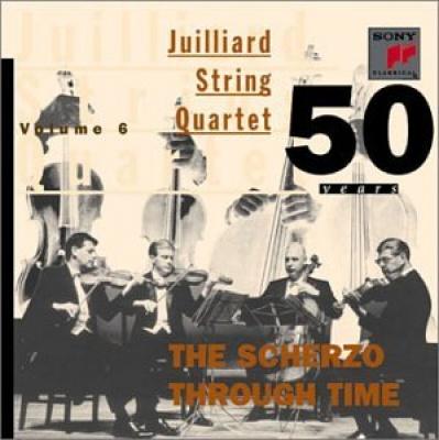 Juilliard String Quartet: 50 Years, Vol. 6 - Scherzo Through Time