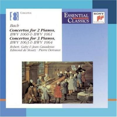 Bach: Concertos for 2 and 3 Pianos