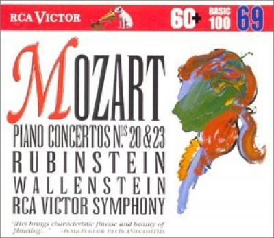 Mozart:Concerto Nos. 20 & 23/Rondo In A Minor