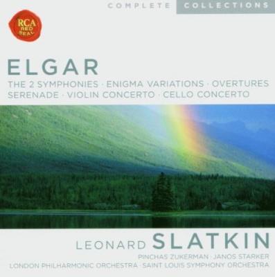 Elgar: The 2 Symphonies; Enigma Variations; Overtures; Serenade; Violin Concerto; Cello Concerto
