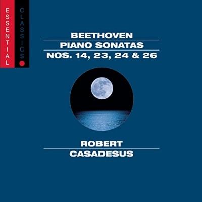 Beethoven: Piano Sonatas Nos 14, 23, 24, & 26