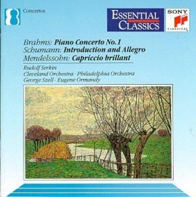 Brahms: Piano Concerto 1; Schumann: Introduction & Allegro