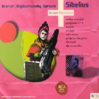 Sibelius: Violin Concerto; Symphony No. 2; Tapiola; Etc.
