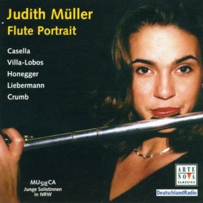 Flute Portrait
