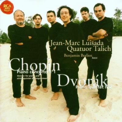 Chopin: Piano Concerto No. 1; Dvorák: Piano Quintet No. 2