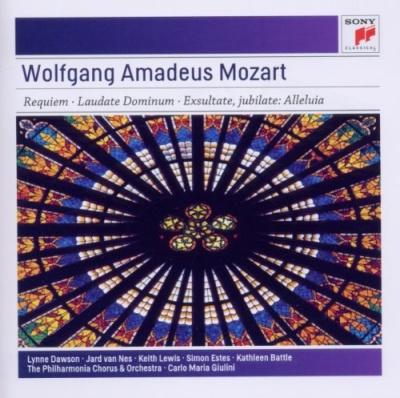 Wolfgang Amadeus Mozart: Requiem; Laudate Dominum; Exultate, Jubilate - Alleluia