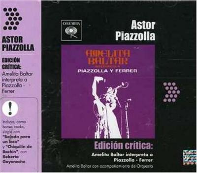 Amelita Baltar Interpreta a Piazzolla y Ferrer