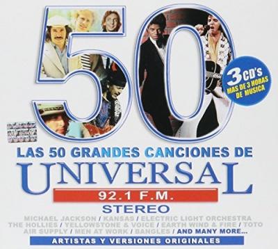 Las 50 Grandes Canciones de Universal 92.1 FM Stereo