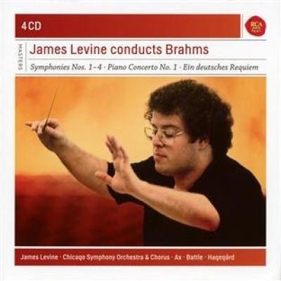 James Levine Conducts Brahms - James Levine | Songs, Reviews