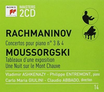 Rachmaninov: Concertos pour Piano No. 3 & 4; Moussorgski: Tableaux d'une Exposition; Une Nuit sur le Mont Chauve
