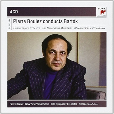 Pierre Boulez Conducts Bartók [Sony]