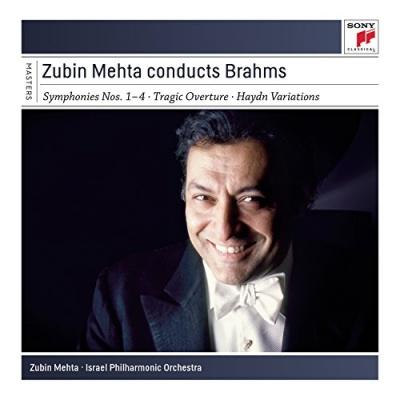 Zubin Mehta conducts Brahms: Symphonies Nos. 1-4, Tragic Overture, Haydn Variations