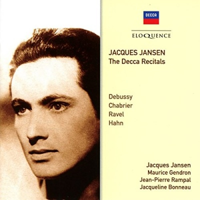 Jacques Jansen: The Decca Recitals