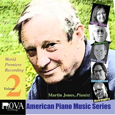 Pnova American Piano Music Series: World Premiere Recordings, Vol. 2