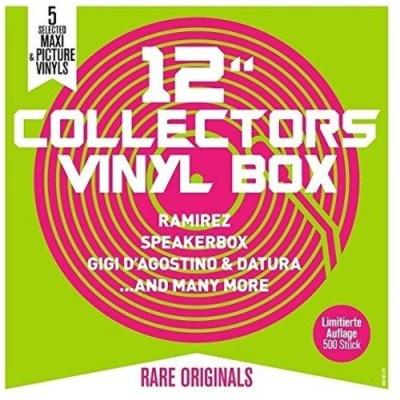 12 Collectors Vinyl Box: Ramirez, Speakerbox, Gigi Dagostino & Datura and Many More