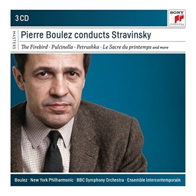 Pierre Boulez conducts Stravinsky - The Firebird; Pulcinella; Petrushka; Le Sacre du printemps