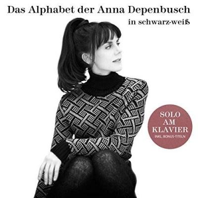 Das Alphabet der Anna Depenbusch in Schwarz-Weiss: Solo Am Klavier