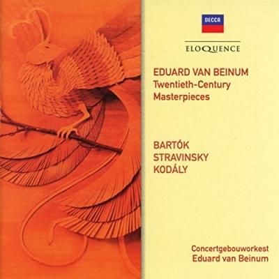 Twentieth-Century Masterpieces: Bartok, Stravinsky, Kodály