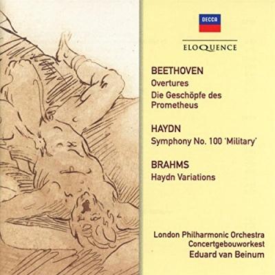 Beethoven: Overtures; Die Geschöpfe des Prometheus; Haydn: Symphony No. 100 'Military'; Brahms: Haydn Variations