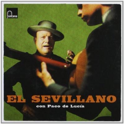 El Sevillano con Paco De Lucía