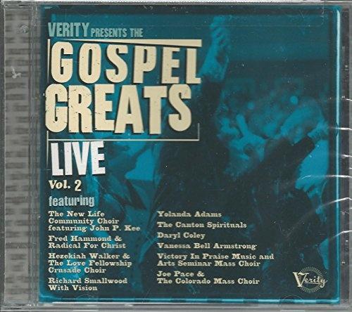 Verity Gospel Greats Live, Vol. 2