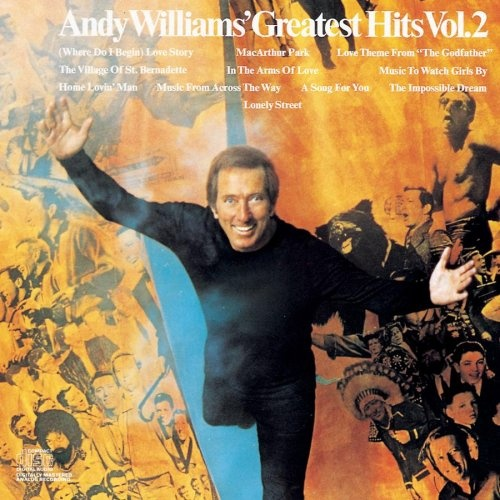 Andy Williams Greatest Hits Vol 2