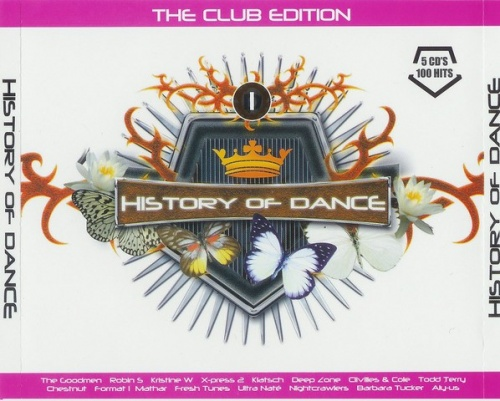 History of Dance, Vol. 1: The Club Edition
