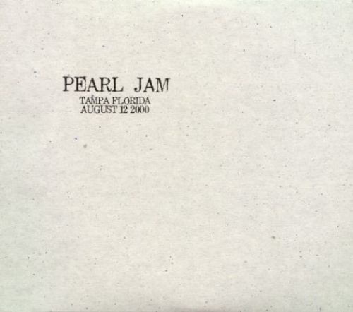 Live: 8-12-00 - Tampa, Florida - Pearl Jam | Songs, Reviews, Credits