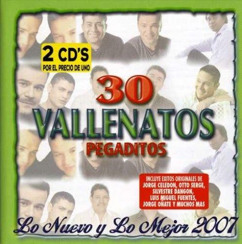 30 Vallenatos Pegaditos [Mock & Roll]