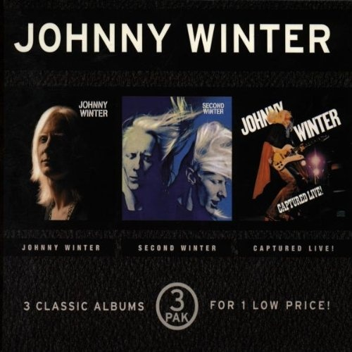 Johnny Winter/Second Winter/Captured Live!