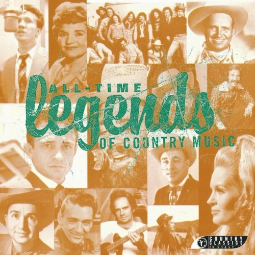 All-Time Legends of Country Music - Various Artists | Songs, Reviews ...