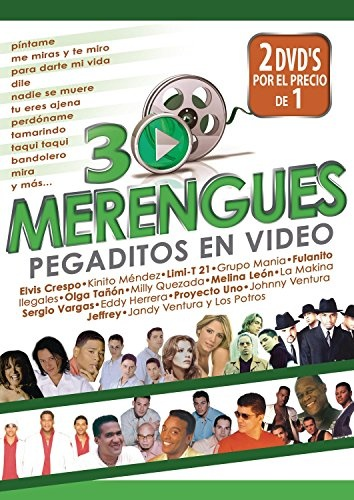 30 Merengues Pegaditos en Video