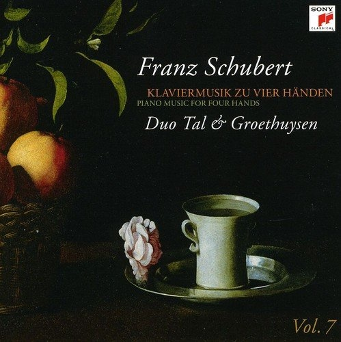 Schubert: Pno Music for 4 Hands 7