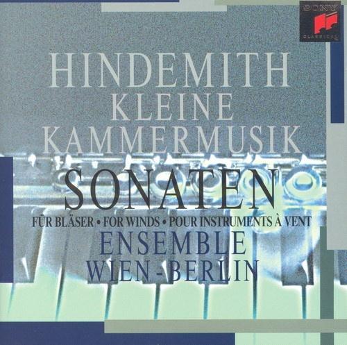 Hindemith: Kleine Kammermusik; Sonaten für Bläser