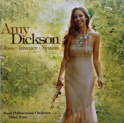 Amy Dickson plays Glass, Tavener & Nyman