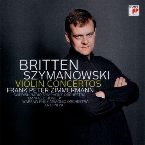 Britten, Szymanowski: Violin Concertos