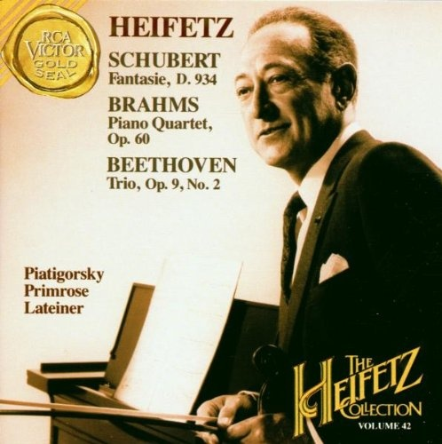 Heifetz Plays Schubert, Brahms, Beethoven