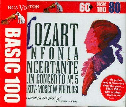 Mozart: Sinfonia concertante in E Flat/Concerto No. 5 in A