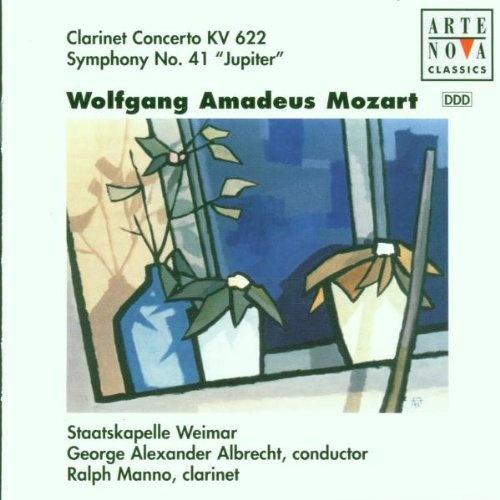 Mozart: Clarinet Concerto; Symphony No. 41