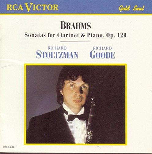 Brahms: Sonatas for Clarinet & Piano, Op.120