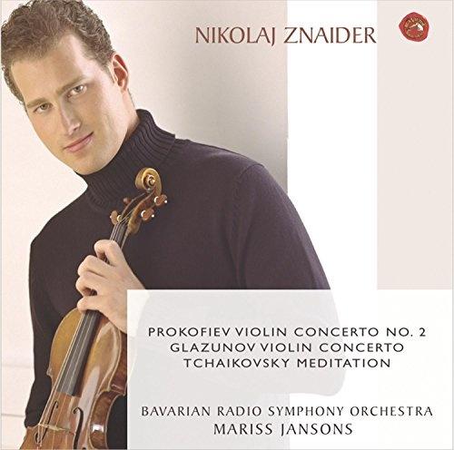 Prokofiev, Glazunov, Tchaikovsky: Violin Concertos