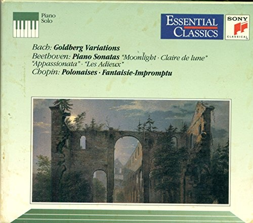 Bach: Goldberg Variations; Beethoven: Piano Sonatas