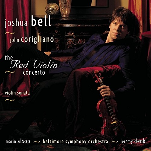 Corigliano: The Red Violin Concerto; Violin Sonata