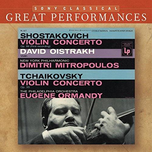 Violin Concertos by Shostakovich & Tchaikovsky - David Oistrakh